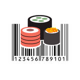 Barcode. Vector illustration. Bar code. Vector illustration. Eps 10. barcode Stock Image