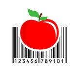 Barcode. Vector illustration. Stock Photography