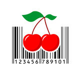 Barcode. Vector illustration. Bar code. Vector illustration. Eps 10. barcode Royalty Free Stock Photo