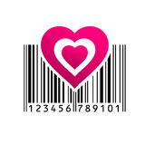 Barcode. Vector illustration. EPS 10 Stock Photography