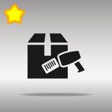 Barcodebildläsare med asken Vektor Illustrationer