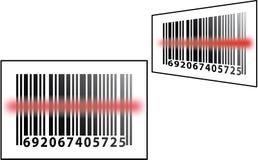 barcodebildläsning Royaltyfri Fotografi