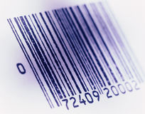 barcoded bild royaltyfri fotografi
