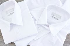 Barcoded Business Shirt Royalty Free Stock Photo