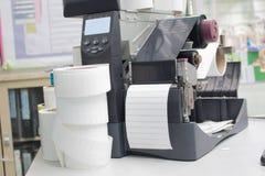 Barcodeetikettendrucker Lizenzfreies Stockfoto