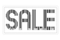 barcodeförsäljning stock illustrationer