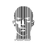 Barcodeframsida royaltyfri illustrationer