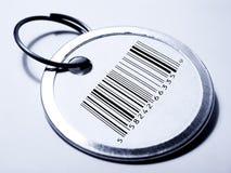 barcodeprislapp Arkivfoto
