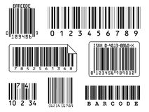 Barcodes stock image