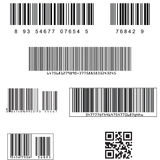 Barcodes Royalty Free Stock Photography