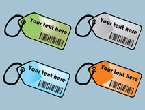 Barcodes labels Royalty Free Stock Photos