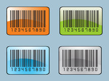 Barcodes labels Stock Photography