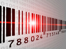 Barcodescan Lizenzfreie Stockbilder