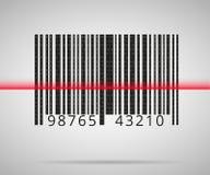 Barcodescannen Stockfotos
