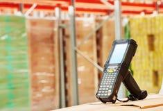 Barcodescanner am Lager Stockfotografie