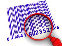 Barcodescanning Royaltyfri Fotografi