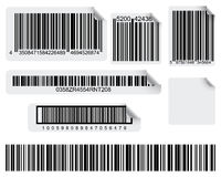 barcodetryck stock illustrationer