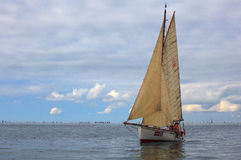 Barcolana赛船会在的里雅斯特 免版税库存照片