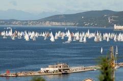 Barcolana regatta Fotografia Royalty Free