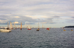 Barcolana regatta, Trieste Royalty Free Stock Photo