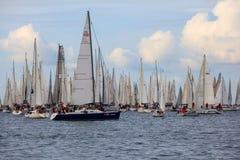 Barcolana regatta, Trieste Stock Image