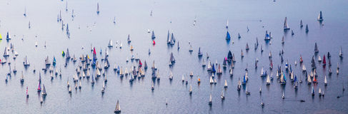 Barcolana regatta of Trieste Stock Photography