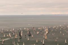 Barcolana regatta of Trieste Stock Photography
