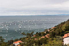 Barcolana regatta of Trieste Royalty Free Stock Photography
