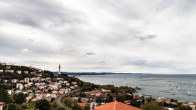 Barcolana regatta of Trieste Royalty Free Stock Images