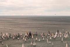 Barcolana regatta of Trieste Royalty Free Stock Photo