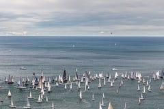 Barcolana regatta of Trieste Royalty Free Stock Photos