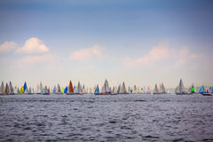 46 Barcolana regatta Royalty Free Stock Images