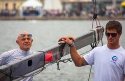 46 Barcolana 2014, Trieste Imagem de Stock Royalty Free