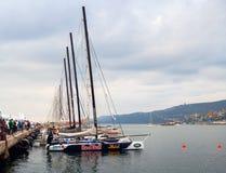 46 Barcolana 2014, Trieste Fotografie Stock