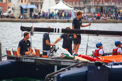 46 Barcolana 2014, Trieste Images stock