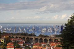 Barcolana 45 Royalty Free Stock Image