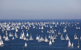 Barcolana, The Trieste regatta Stock Images
