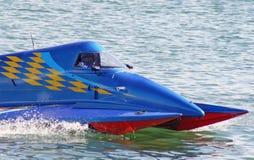Barcos 2 da potência do Fórmula 1 Fotos de Stock