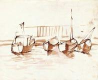 Barcos 5 Imagen de archivo