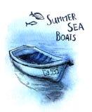 Barcos ilustración del vector