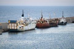 Barcos abandonados Fotografia de Stock