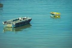 Barcos abandonados Imagens de Stock Royalty Free