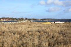 Barcos abandonados Fotos de archivo
