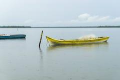 Barcos amarrados Imagens de Stock