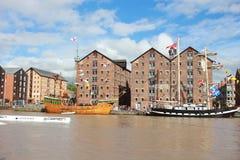 Barcos atracados Foto de archivo