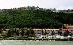 Barcos atracados en el puerto deportivo del La Imagen de archivo