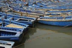 Barcos azuis Foto de Stock