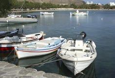 Barcos brancos Fotos de Stock Royalty Free
