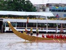 Barcos budistas tailandeses, Banguecoque, Tailândia. Fotos de Stock Royalty Free