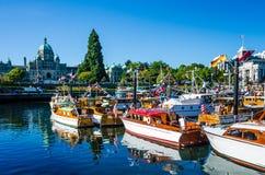 Barcos clásicos maravillosamente restaurados Imagen de archivo